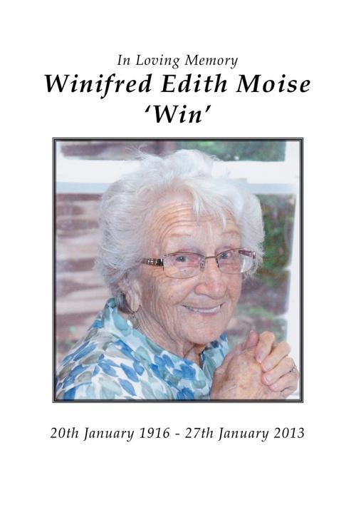 Winifred Moise