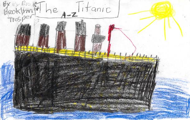 The Titanic A-Z by Brooklynn