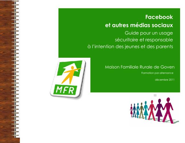 Charte Facebook MFR Goven