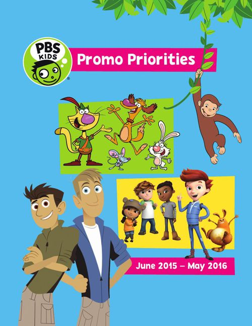 PBS KIDS Promo Priorities 2015-16