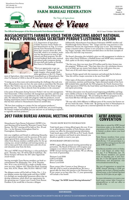2017 October News & Views