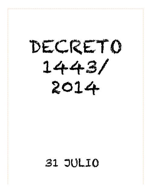 PRESENTACION decreto 1433