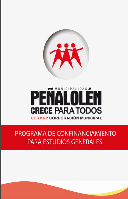 """Informativo """"Programa de cofinanciamiento para estudios generale"""