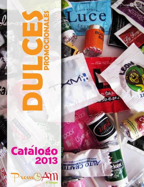 CATÁLOGO DULCES 2013