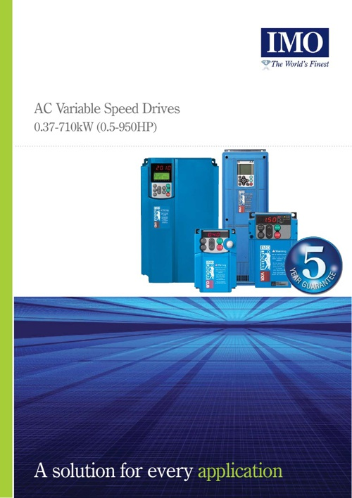 IMO Jaguar Variable Speed Drive Brochure.