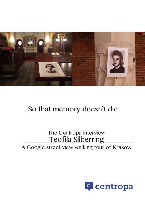So that memory doesn't die