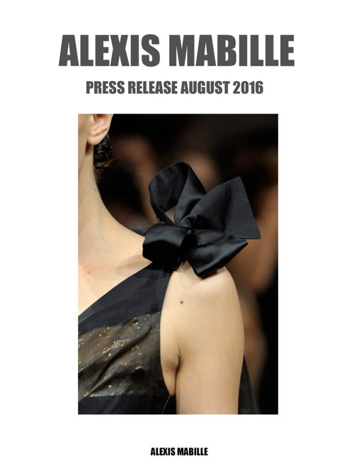 PRESSE RELEASE AUGUST 2016
