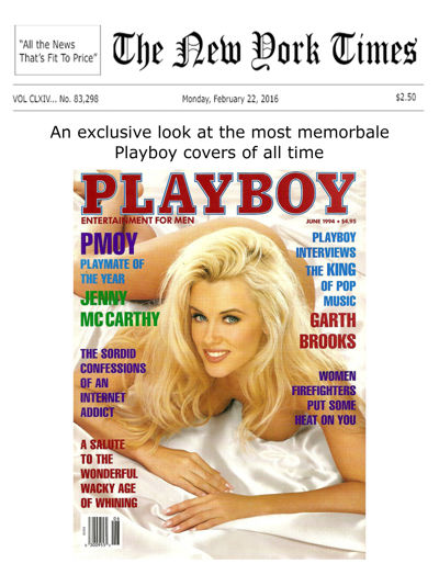 New York Times - Playboy Editorial