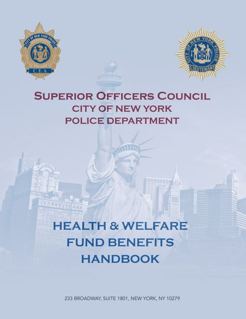 Superior Officers Council   Benefits Handbook