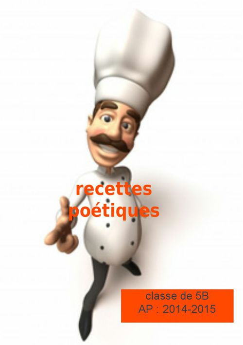 Copy of recette culinaire 5 B