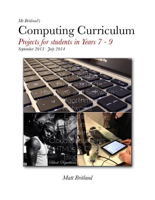 Computing Curriculum - Year 7 - 9 2013_14