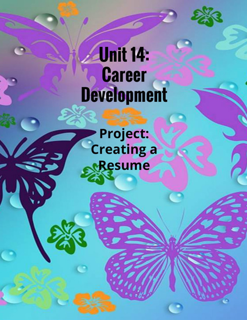 Unit 14: Career Development
