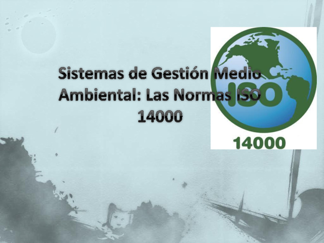 SCAmbiental ISO 14000