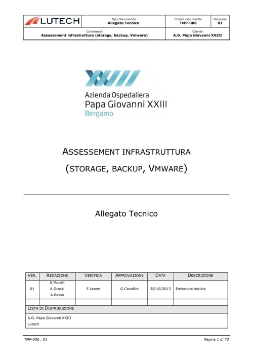 Assessement storage, backup e vmware_Password_Removed