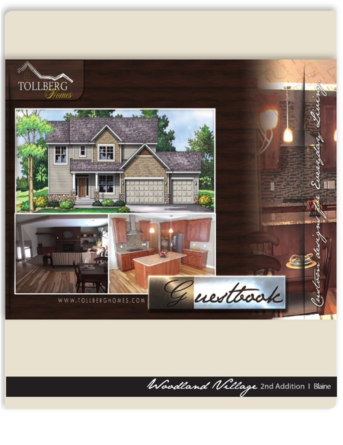 Tollberg Homes - Woodland Village Model Home Sheet