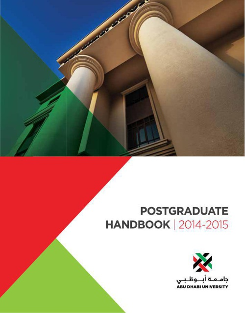 ADU PG catalogue 2014 - 2015 Updated