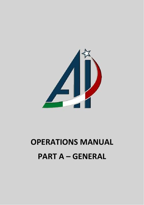 Operation Manual Part A v1.0