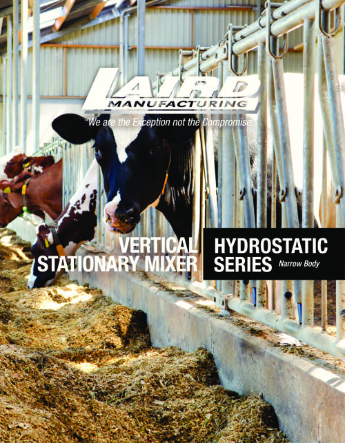 Vertical Stationary Mixer Hydrostatic Series Narrow Body