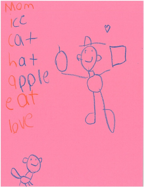 1st Grade Acrostic Poems