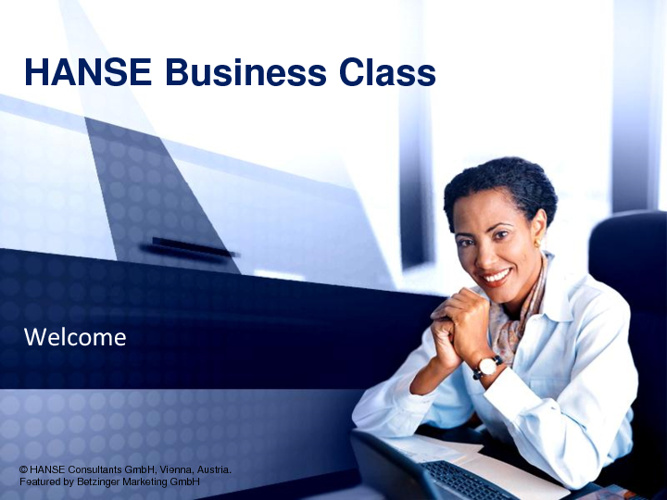 The HANSE Business Class