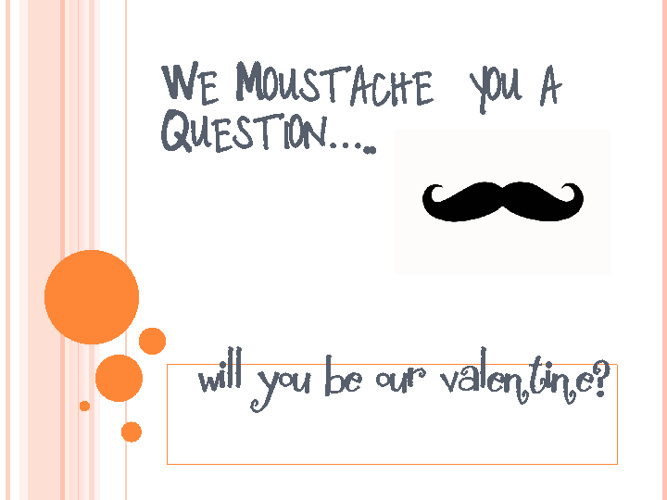 We moustache you a question....