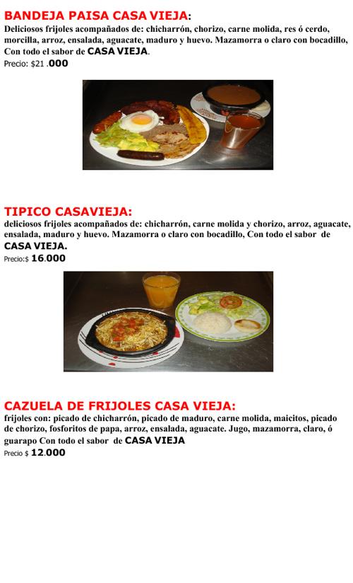 Casa Vieja Restaurante Dinner