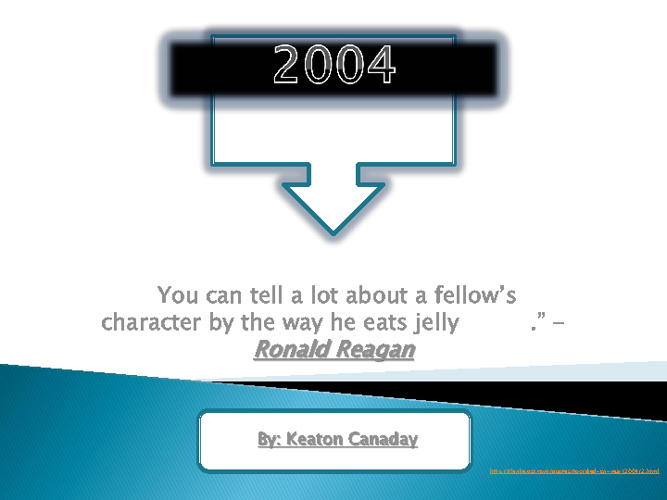 2004 final project- keaton canaday