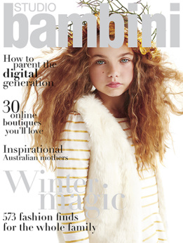 Studio Bambini Magazine NO. 57 VOL. 29 AUTUMN/WINTER 2014