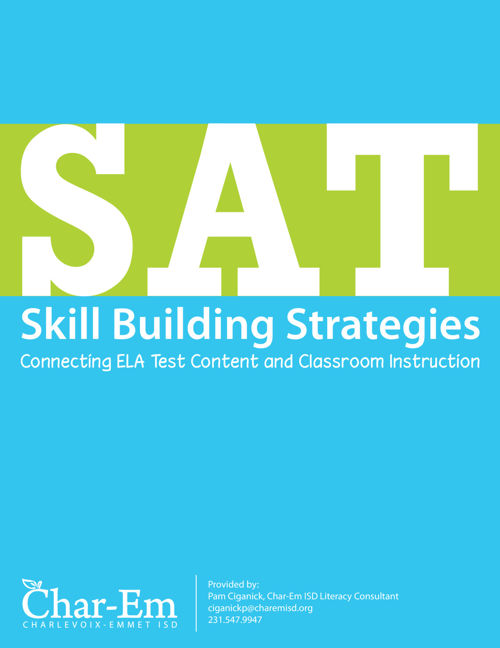 SAT Skill Building Strategies - Connecting ELA Test Content