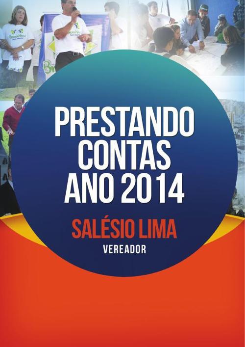 Prestação de Contas 2014 - Salésio Lima