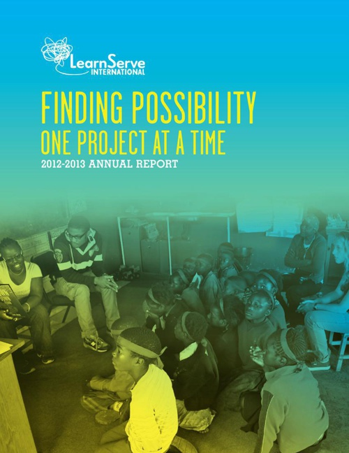 LearnServe 2012-2013 Annual Report