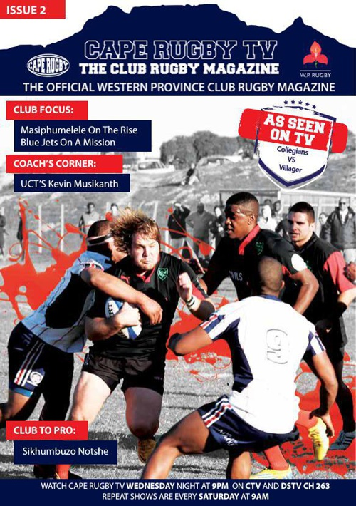Cape Rugby TV magazine edition 2