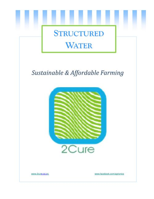 2Cure - Structured Water