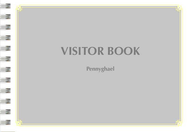 visitor book Pennyghael