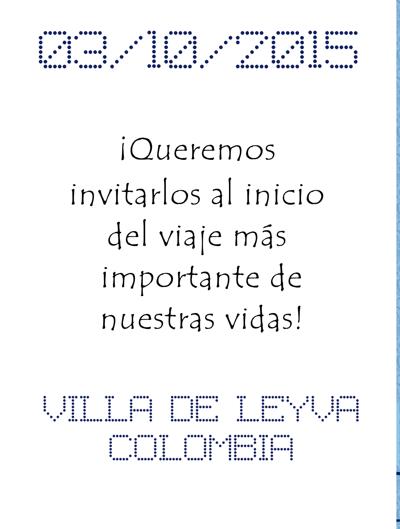 Invitación Diana Medina
