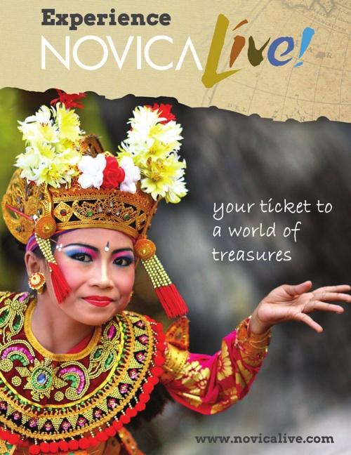 Get Involved with NOVICA Live