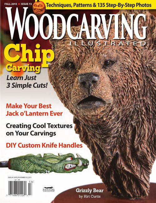 Woodcarving Illustrated issue #72 Fall 2015