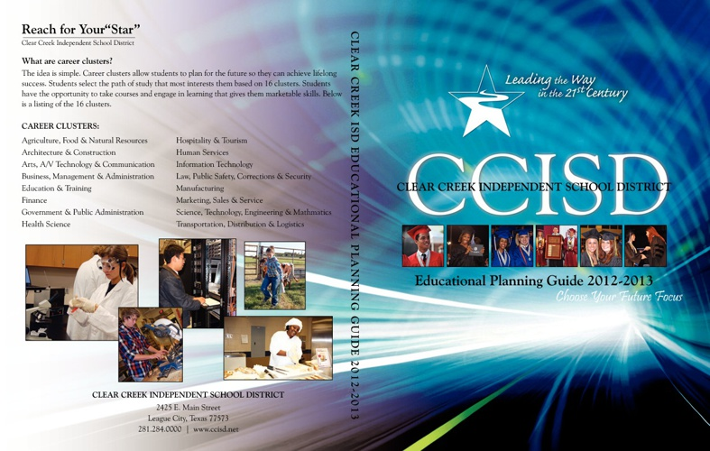 2012-2013 Clear Creek ISD Educational Planning Guide