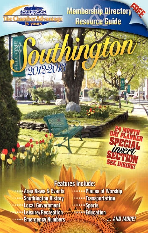 Southington Chamber Directory 2012-2013