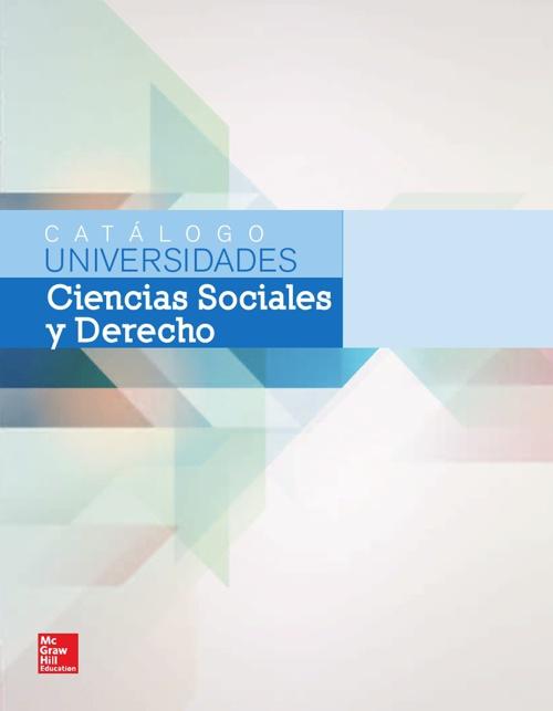 Catálogo de Sociales y Derecho