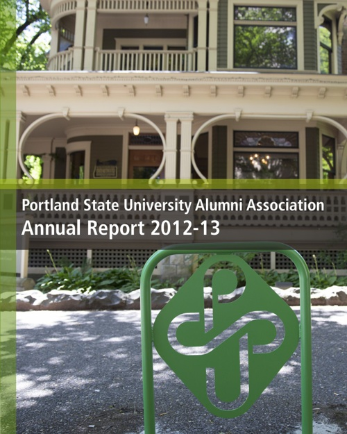 PSU Alumni Association Annual Report 2012-13