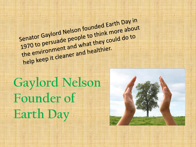 Gaylord Nelson