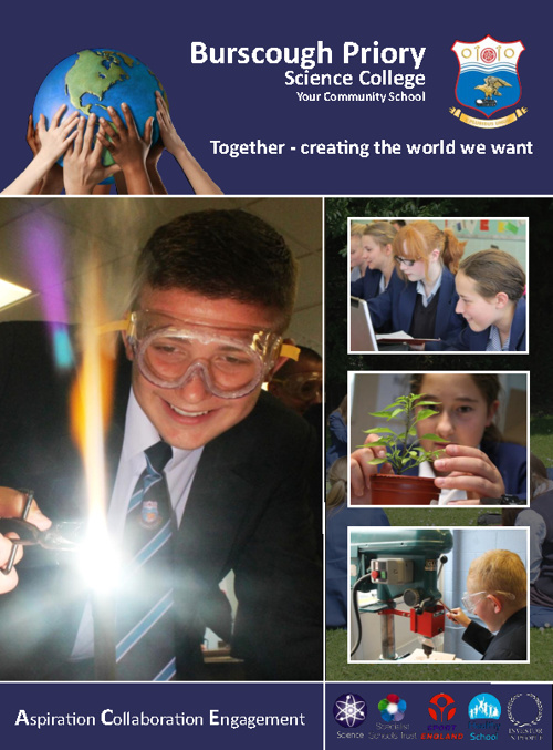 Burscough Priory Science College Prospectus