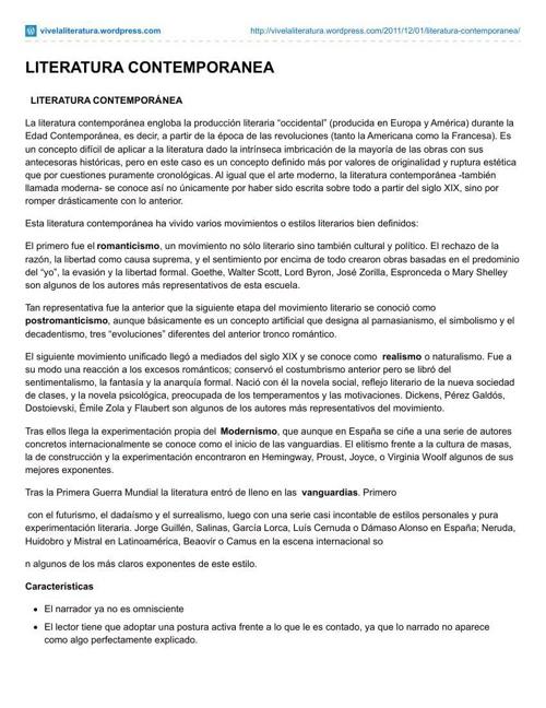 vivelaliteratura.wordpress.com-LITERATURA_CONTEMPORANEA