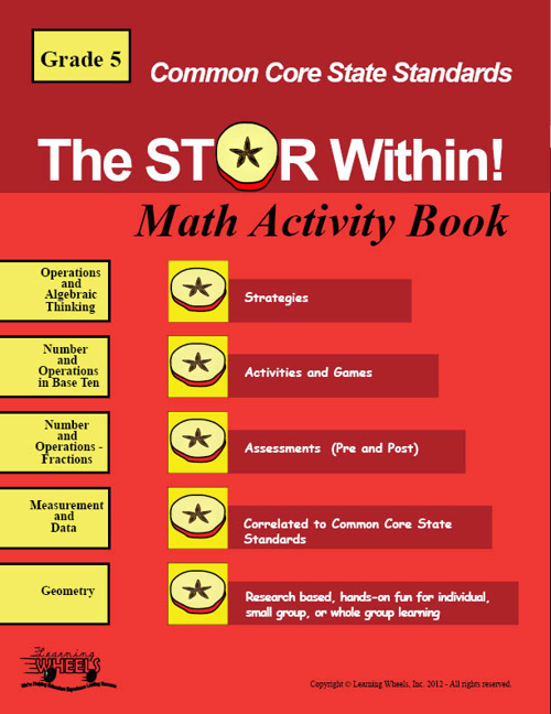 Common Core 5th Grade Math Activity Book