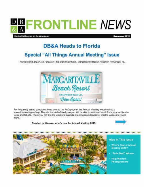 Dec 2015 Newsletter