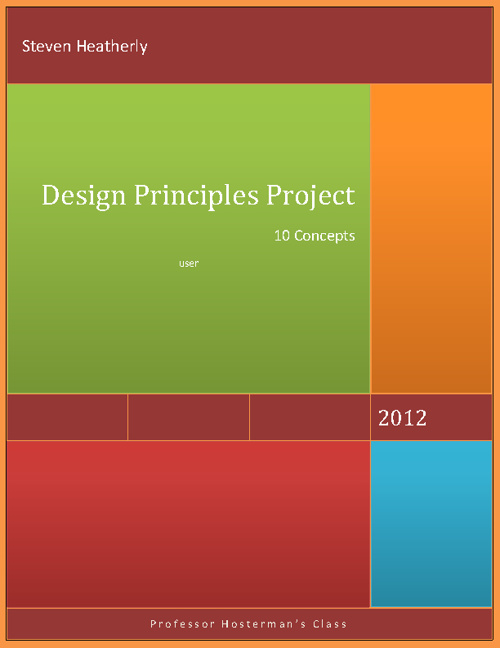 Steven Heatherly's Design Principles Project