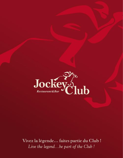 Mazagan Beach & Golf Resort - Jockey Club Menu
