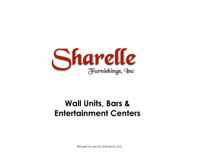 Sharelle Wall Units, Bars & Entertainment Centers