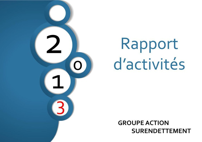 rapport d'activités GAS 2013